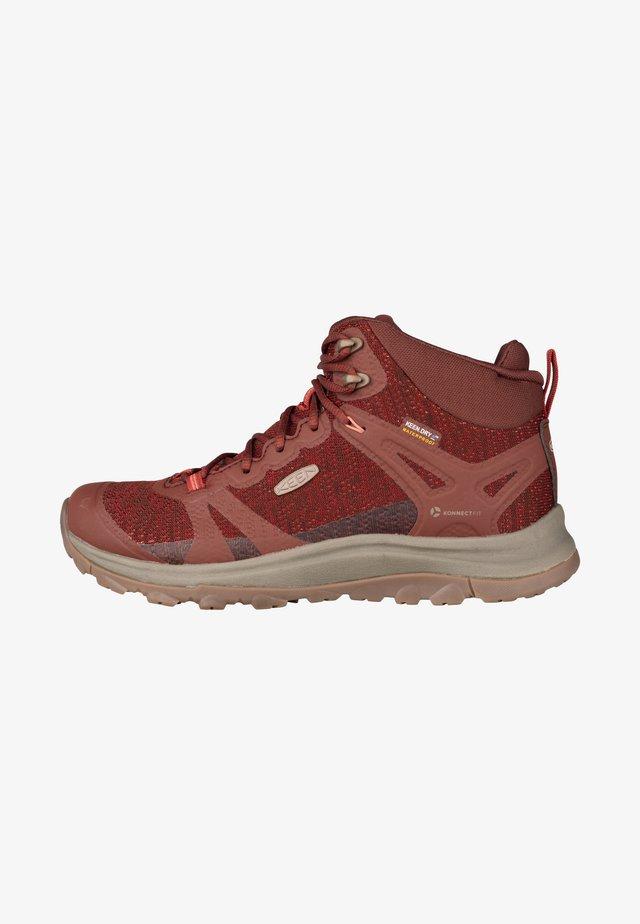 Lace-up ankle boots - cherry mahogany/bossa nova