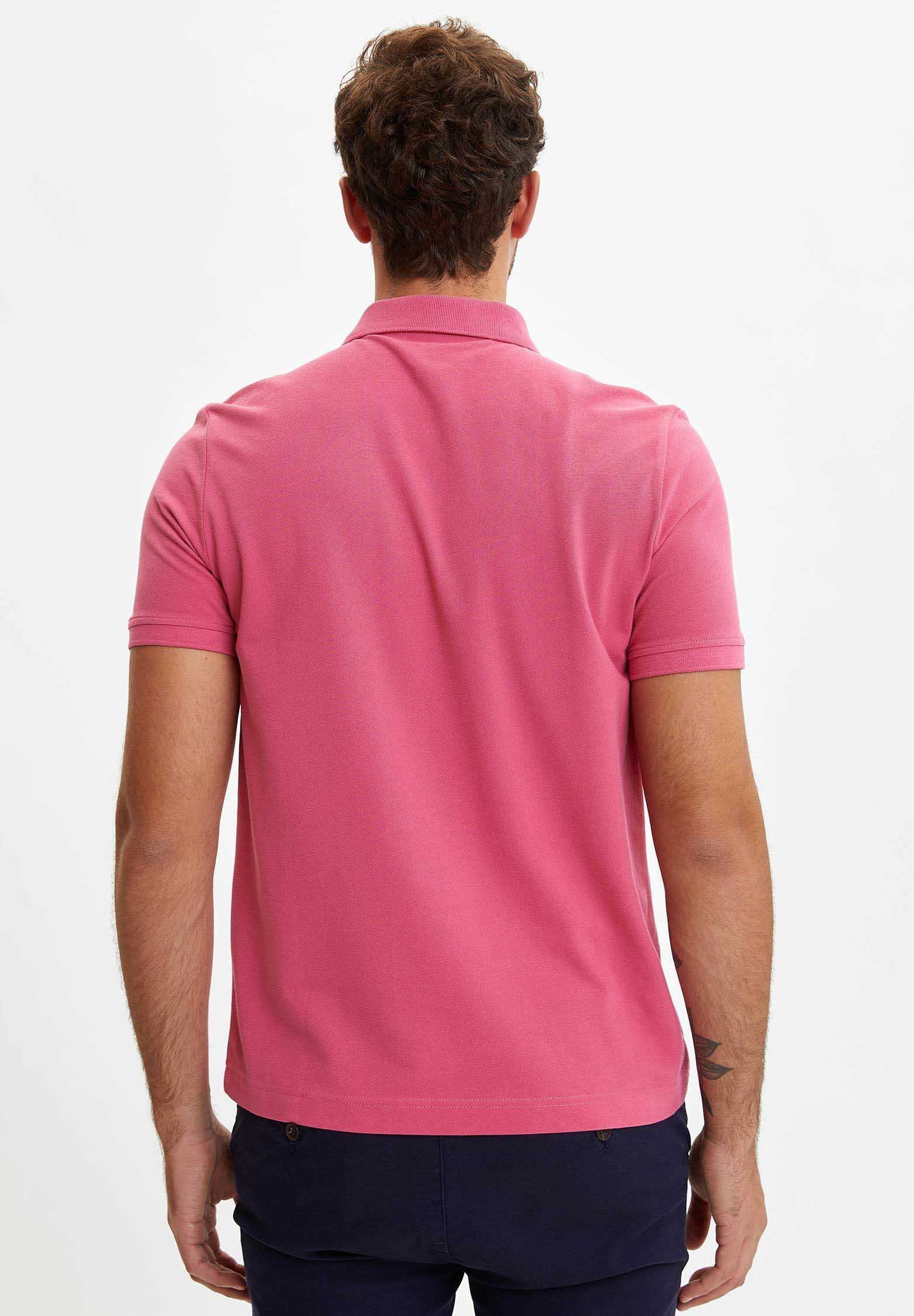 DeFacto Polo shirt - red VeHd7