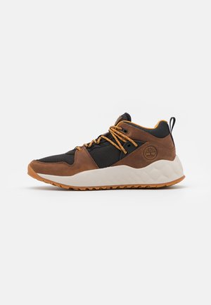 SOLAR WAVE EK+ - High-top trainers - mid brown