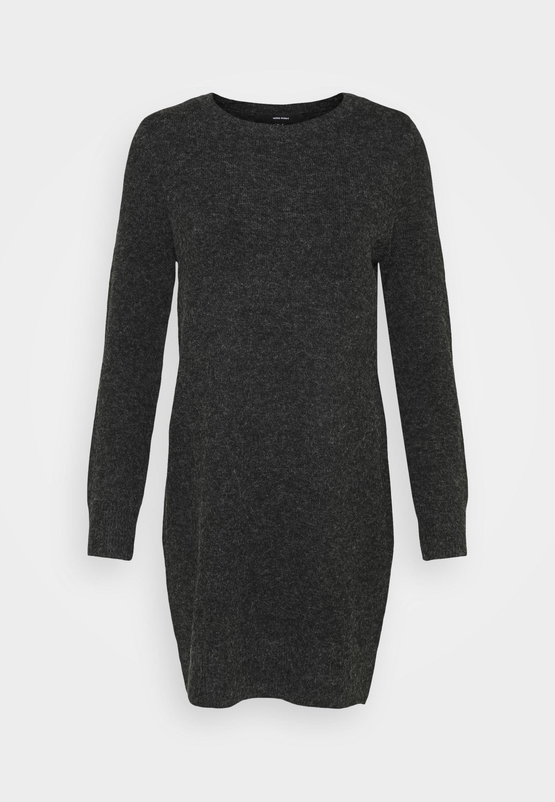 Mujer VMDOFFY O NECK DRESS - Vestido de punto