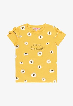 T-shirt print - mustard