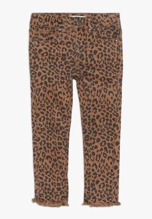 DREA - Slim fit jeans - amber brown