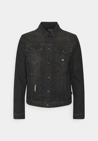 GLENALVON - Denim jacket - black
