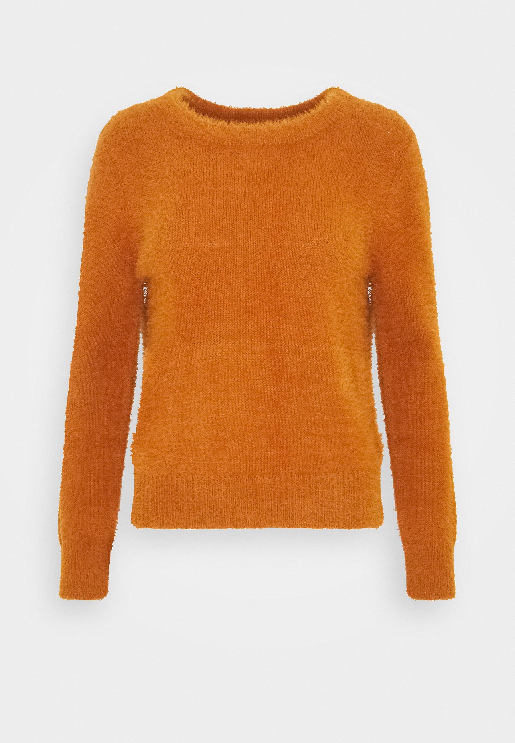 JDY JDYKATE Stickad tröja brown Zalando.se