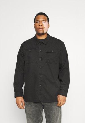 JCOBEN CLASSIC OVERSHIRT - Shirt - black