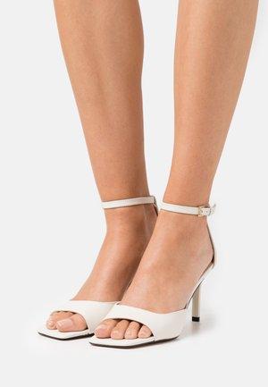 ASTEAMA - Sandals - white