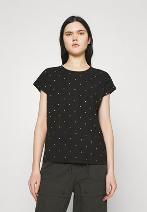 VMMARLIEAVA WIDE FIT - T-shirt con stampa - black