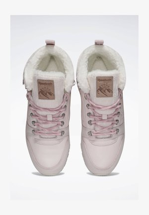 CLASSIC LEATHER ARCTIC BOOTS - High-top trainers - pink