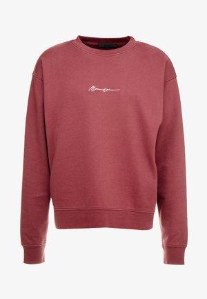 ESSENTIAL BOXY UNISEX - Sweatshirt - burgundy