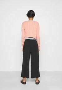 Monki - Trousers - black - 2