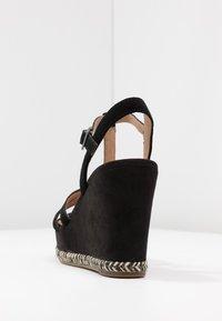 UGG - MELISSA - Højhælede sandaletter / Højhælede sandaler - black - 5