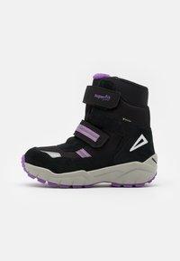 Superfit - CULUSUK 2.0 - Winter boots - schwarz/lila - 0
