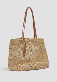 PULL&BEAR - Tote bag - light brown - 1
