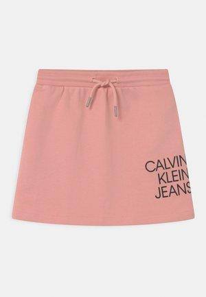 HYBRID LOGO - Mini skirt - pink