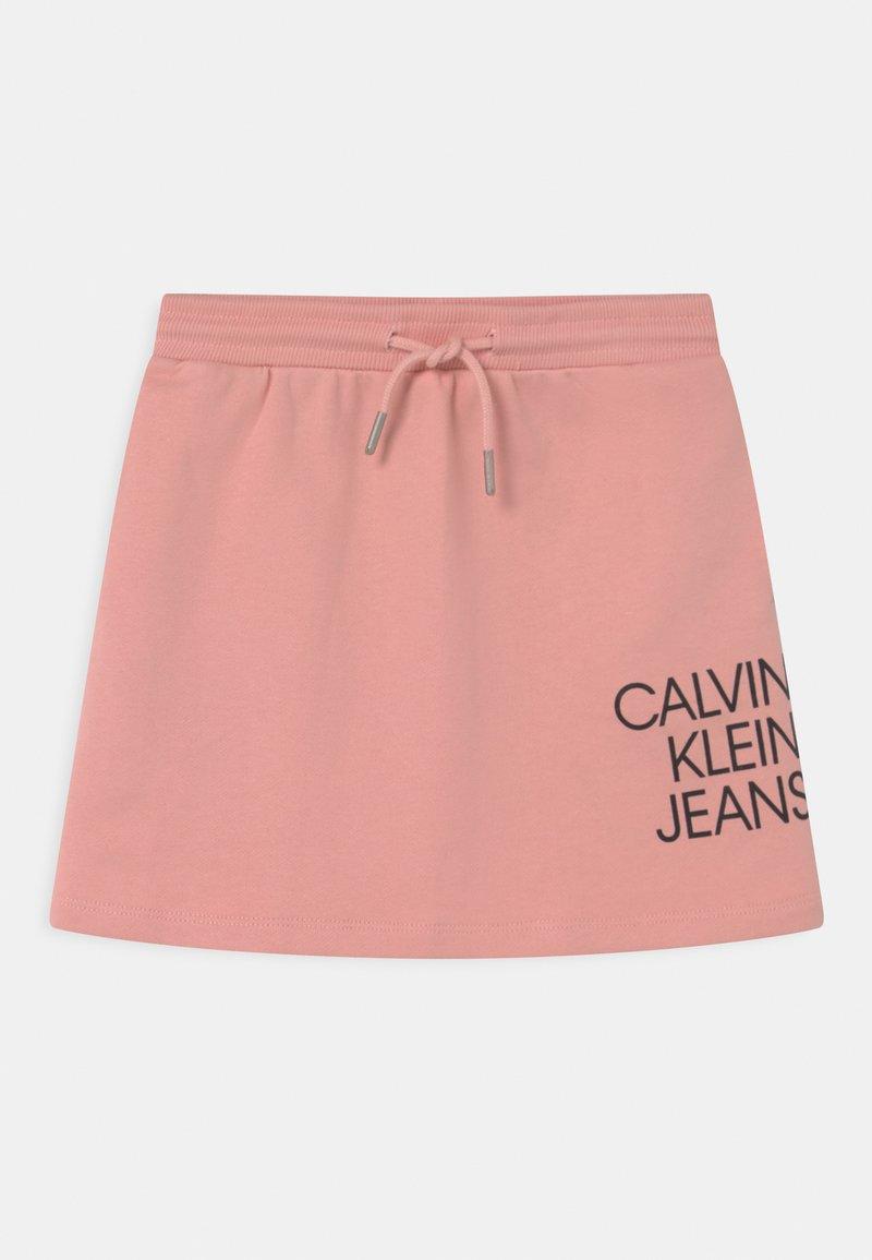 Calvin Klein Jeans - HYBRID LOGO - Mini skirt - pink