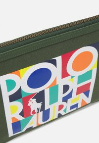 Polo Ralph Lauren - POUCH SMALL UNISEX - Wash bag - army olive - 3