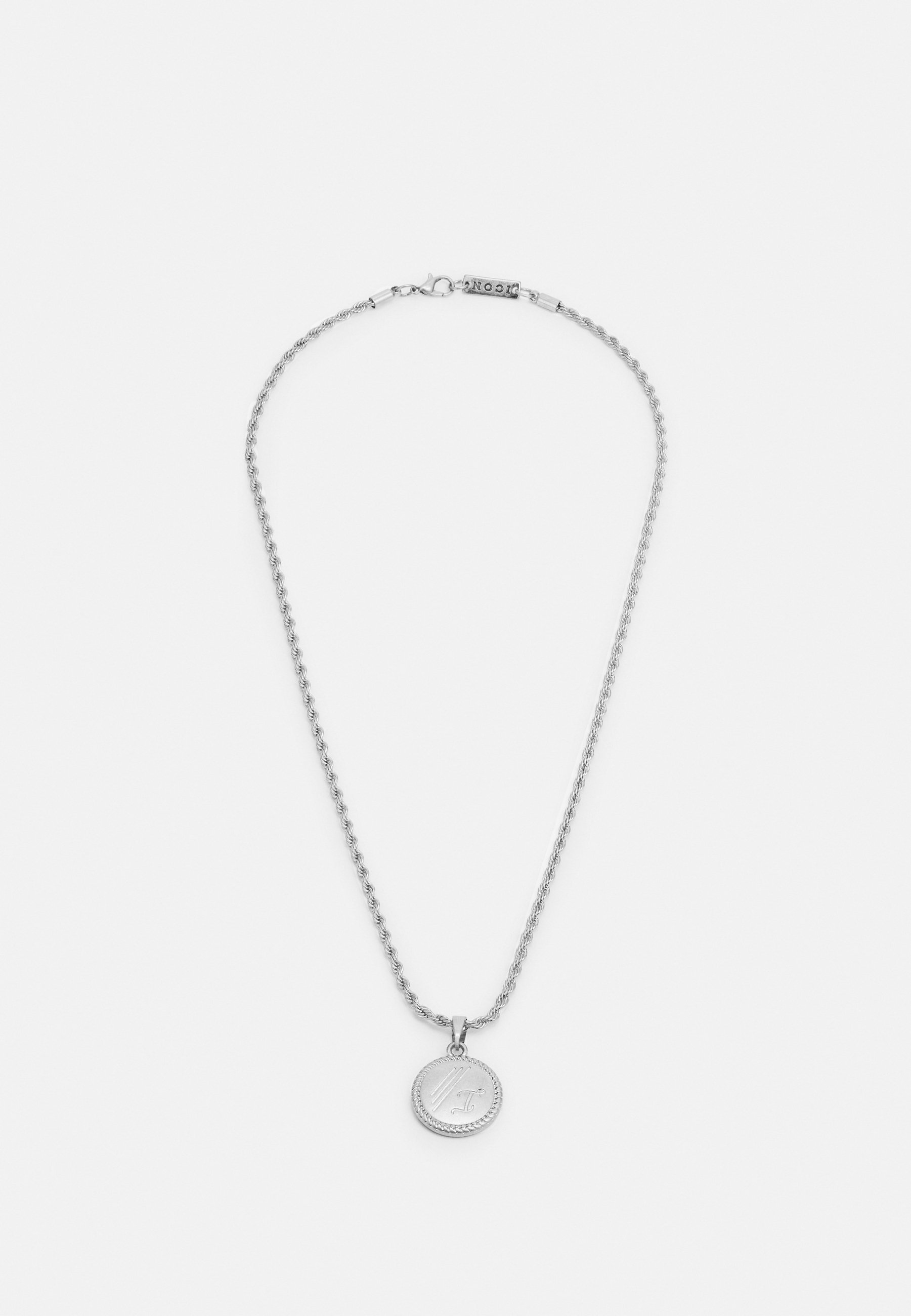Homme ROUND ROPE PENDANT WITH ENGRAVING - Collier