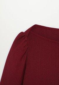 Violeta by Mango - RAYETAS - Long sleeved top - maroon - 5