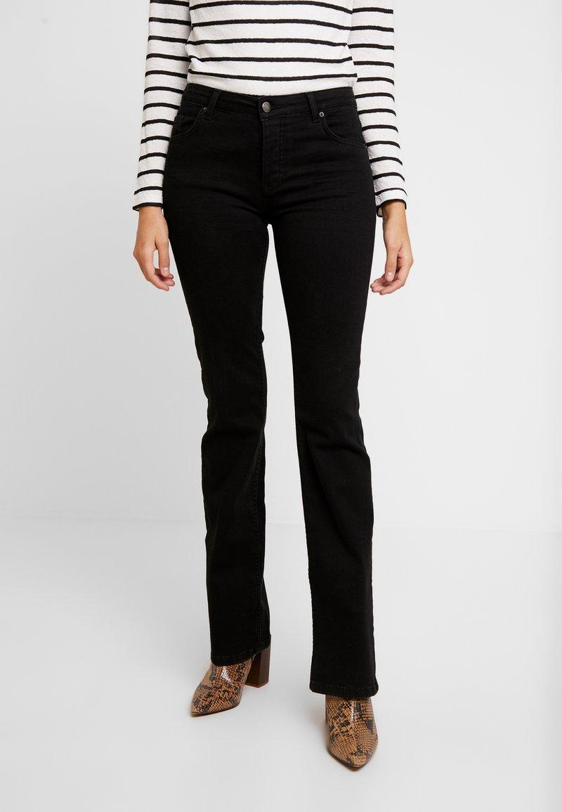 Fiveunits - Bootcut jeans - black auto