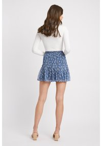 Kookai - A-line skirt - lq-blue - 2