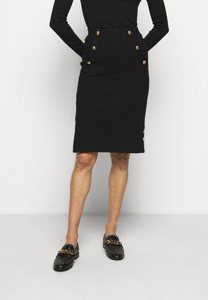 VANATU SKIRT - Pencil skirt - black