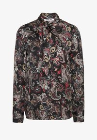Replay - BLOUSES - Button-down blouse - black/sand/natural white/red - 0