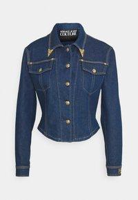 Versace Jeans Couture - LADY JACKET - Kurtka jeansowa - indigo - 6