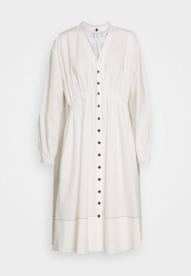 SHIRTING DRESS - Košilové šaty - off white