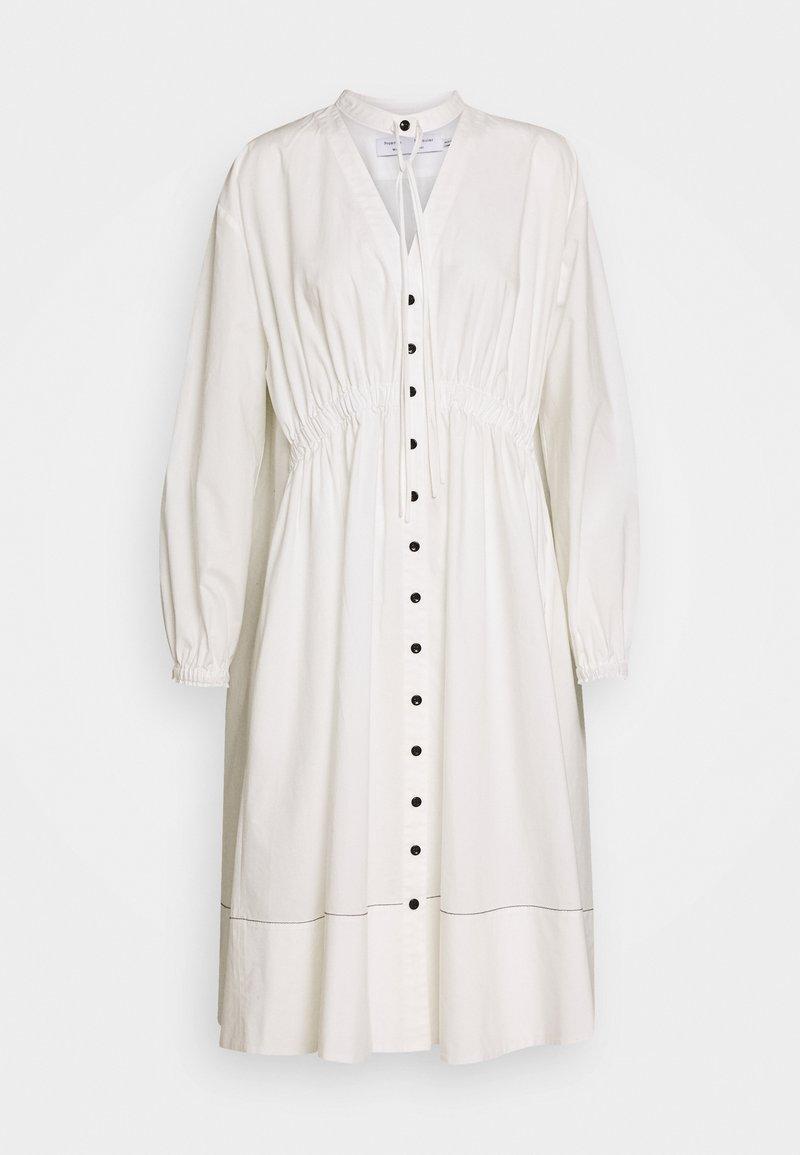 Proenza Schouler White Label - SHIRTING DRESS - Abito a camicia - off white