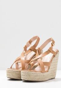 RAID - ROCIO - High heeled sandals - dark coral - 4