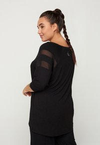 Active by Zizzi - Long sleeved top - black - 2