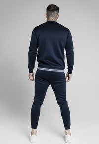 SIKSILK - ELEMENT CREW - Langærmede T-shirts - navy/white - 2