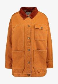 Monki - SARAH JACKET - Short coat - tobacco/dark brown - 3