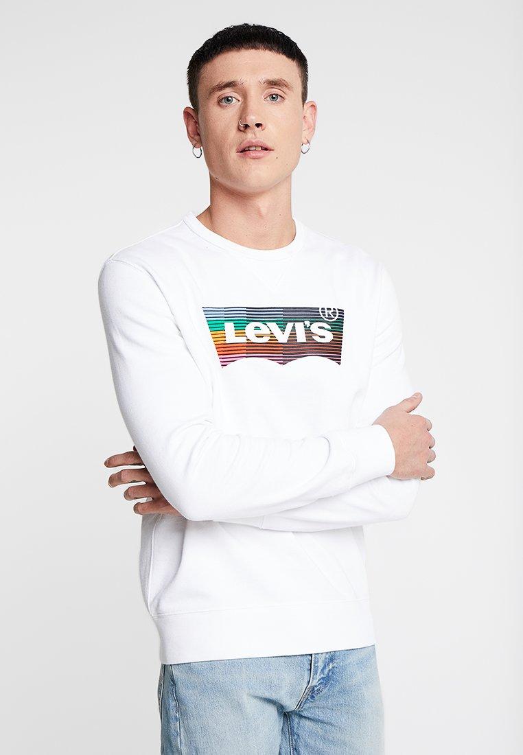 Levi's® - GRAPHIC CREW  - Sweatshirts - marshmallow white