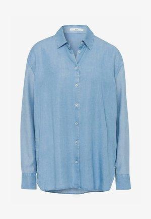 STYLE - Button-down blouse - light blue