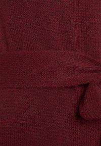 Anna Field - Shift dress - dark red - 5