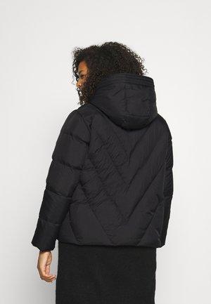 SLFDUVA JACKET CURVE - Gewatteerde jas - black