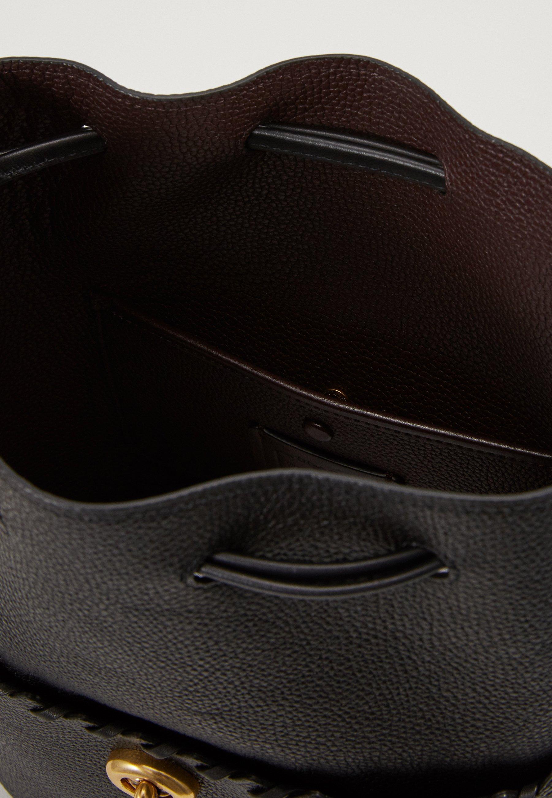 Coach WHIPSTITCH DETAILS LORA BUCKET BAG - Håndveske - black/svart X6nWZmK7xXyKvPu