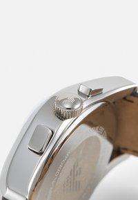 Emporio Armani - Hodinky se stopkami - brown - 4