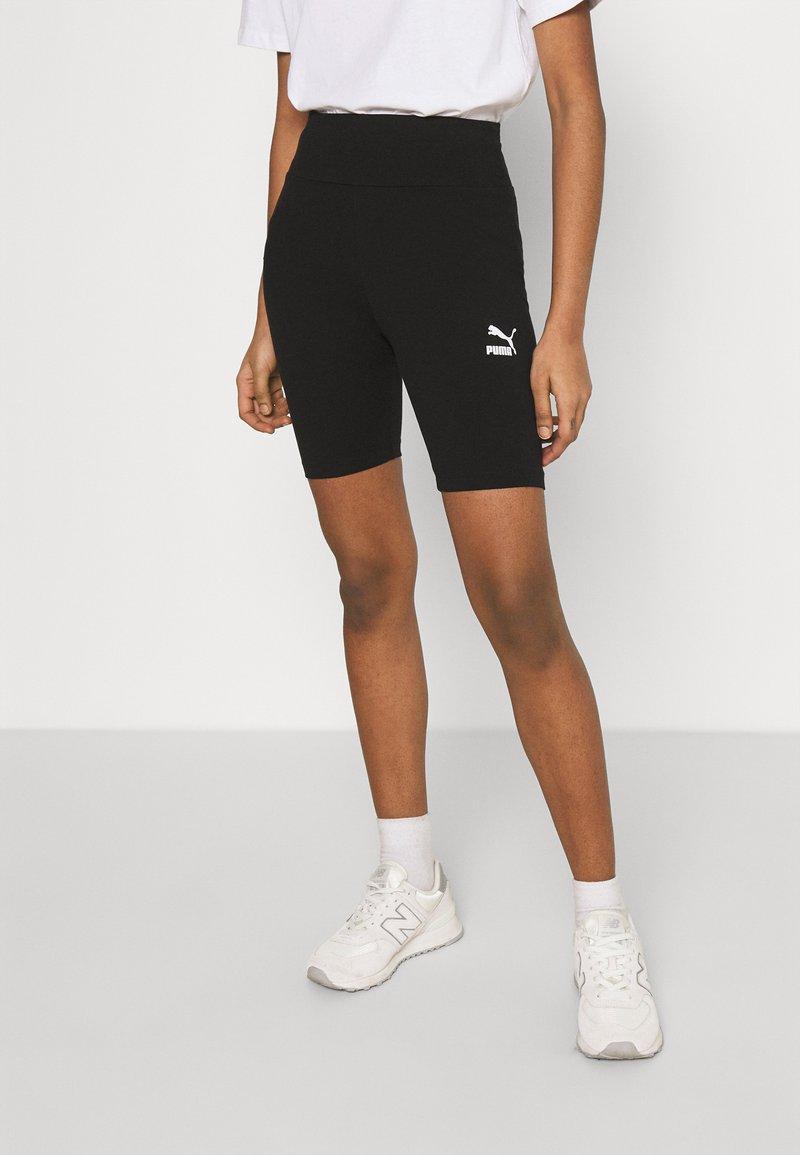 Puma - CLASSICS TIGHTS - Shorts - black