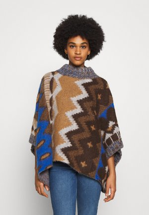 TRAIL PONCHO - Poncho - timber combo