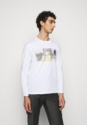 FRACTURE TEE - Camiseta de manga larga - white