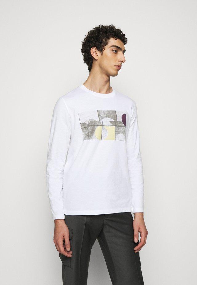 FRACTURE TEE - Långärmad tröja - white