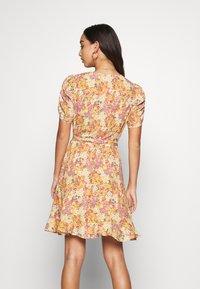 Forever New - TRINA WRAP MINI DRESS - Day dress - dark yellow - 2