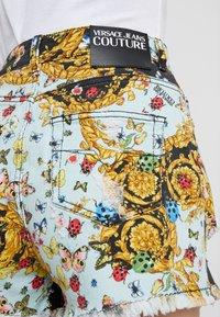 Versace Jeans Couture - Denim shorts - menta - 3