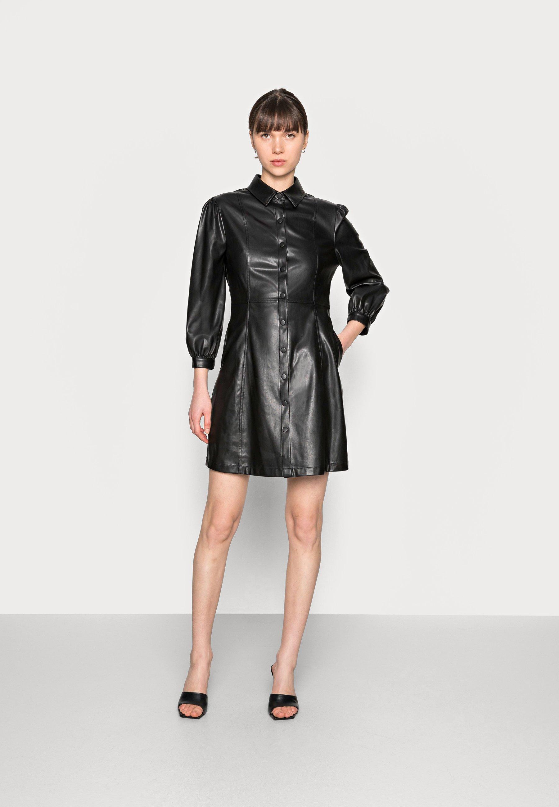 Women ABITO SPALMATO - Shirt dress