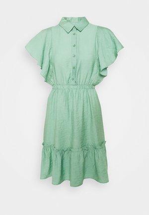 Košilové šaty - mint