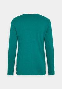 YOURTURN - UNISEX - Top sdlouhým rukávem - turquoise - 1