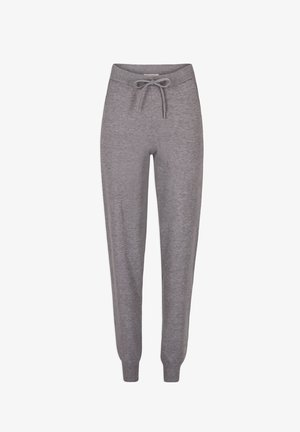 HOSEN - Leggings - Trousers - mottled grey