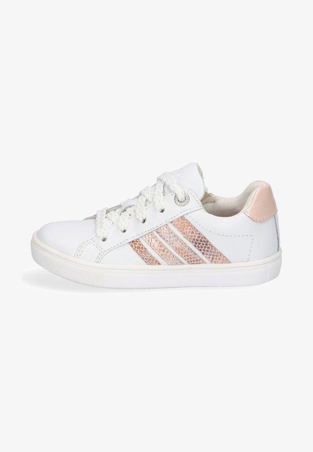 LESLEY LOUWIES - Sneakers laag - white/pink